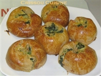 Spinach Onion Garlic Potato Knish