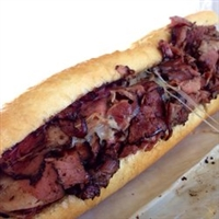 Pastrami on French Baguette