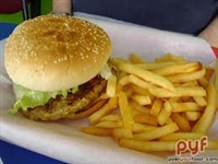 Garden Burger with Fries