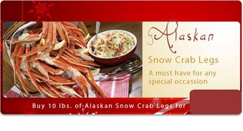 10 LBS Jumbo Snow Crab Legs