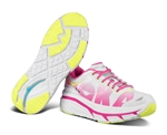Hoka Valor White-Pink-Citrus