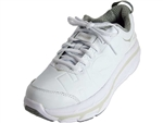 Hoka: Valor Leather White