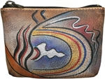 Coin Pouch Abstract Classic