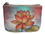 Coin Pouch Oriental Lotus