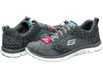 Skechers: Flex Appeal Tribeca Charcoal