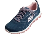 Skechers: Modern Edge Navy Pink