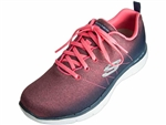 Skechers: Flex Appeal 2.0 Bright Side Charcoal Coral