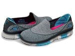 Skechers: GO FLEX Walk – Ability Walking Shoes Charcoal