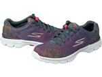 Skechers: GO Walk 3 - Digitize Charcoal/Pink