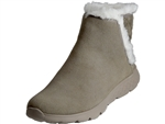 Skechers: 400 Cozies Taupe Suede