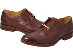 Johnston & Murphy: Garner Plain Toe Mahogany