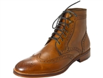 Johnston & Murphy: Conrad Wingtip Boot Tan