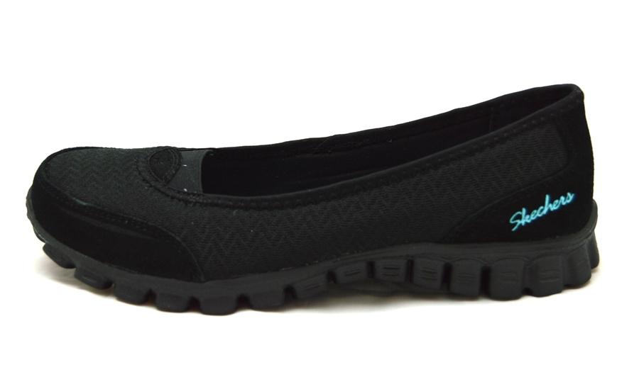 Womens lined leather gloves - Skechers Ez Flex 2 Joy Ride Black