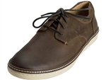 Johnston & Murphy: McGuffey Plain Toe Brown Oiled