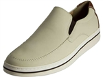 Johnston & Murphy: Bowling Slip On Bone