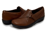 Clarks: Evianna Ease Brown Smooth Leather