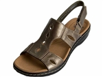 Clarks: Leisa Lakelyn Pewter Metallic