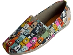 Skechers: Bobs Plush Wag Party Multi Dog Print