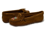 Minnetonka: Me To We Moc Dusty Brown Suede
