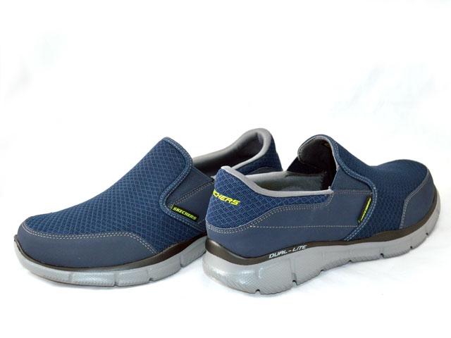 Skechers Navy & Persistent Equalizer-Blue