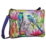 Triple Compartment Crossbody Spring Passion