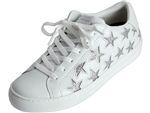 Skechers: Side Street Star Side White Silver