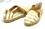 Sesto Meucci 9334 Camel-White Striped