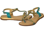Spring Step: Anouk Teal Multi