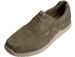 Rockport: Langdon Slip On Taupe Nubuck