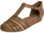 Rockport: Galway T-Strap Tan Multi