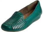 Rockport: Galway Woven Loafer Teal