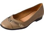 Naturalizer: Jaye Taupe Leather / Snake