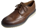 Rockport: Jaxson Wing Tip Brown Leather