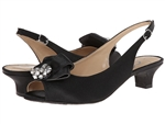 J.Renee Jadan Glimmer Satin Black