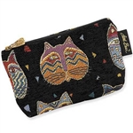 Feline Faces Tapestry Cosmetic Bag