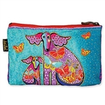 Papillon Dog Cosmetic Bag