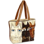 Ancestral Cats Lrg.Sq. Tote