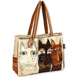 Ancestral Cats Oversized Tote