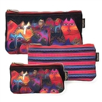 Fantasticats 3 Cosmetic Bag Set