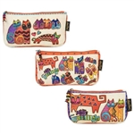 Karly's Cats 3 Cosmetic Bag Set
