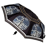 Polka Dot Cats Compact Umbrella