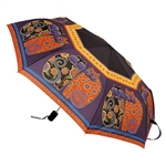 Feline Family Portrait Compact Umbrella