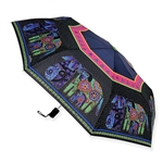 Dog & Doggies Compact Umbrella
