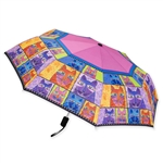 Whiskered Cats Compact Umbrella