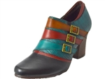 Spring Step: Muqui Black Multi