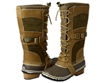 Sorel: Conquest Carly Boot - British Tan, Flax