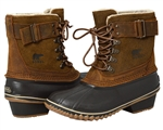 Sorel: Winter Fancy Lace II Boot - Elk, Grizzly Bear