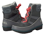 Sorel: Tivoli™ II Suede Boot City Grey