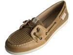 Sperry Topsider: Coil Ivy Perf Tan