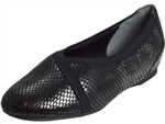 Rockport: Envelope Flat Black Multi Snake